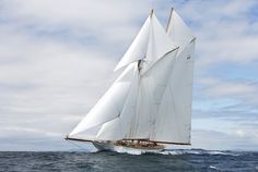 Sailing yacht Elena,the magnificent 55 metre A Class Racing Schooner August 2009 – Photo Credit Mount Gay Rum Round Barbados Race Luxury Sailing Yachts, Big Yachts, Super Yachts, Classic Sailing, Classic Yachts, Sailing Day, Sailing Ships, Sailing Weather, Barbados