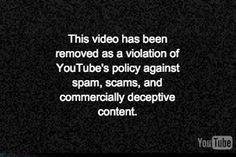 Viu isso? Na homepage do YouTube, vídeo do anunciante removido por violar política (!) - Blue Bus