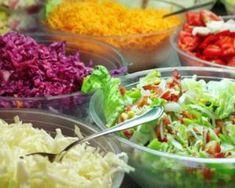 Farandole de salades colorées : http://www.fourchette-et-bikini.fr/recettes/recettes-minceur/farandole-de-salades-colorees.html