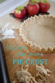 How to Make Pie Crus