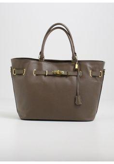 MAXI BAG VERA PELLE TAUPE - Melissa Agnoletti http://www.melissaagnoletti.com/…/1485-maxi-bag-vera-pelle-… #Melissaagnoletti #Fashion #Style