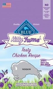 Blue Buffalo Kitty Yums Chicken Recipe Cat Treats Recall Due to the Presence of Propylene Glycol