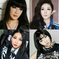 Black hair, 2ne1 👑💛 #2ne1 #bom #dara #cl #minzy #parkbom #parksandara #leechaerin #gongminji #투애니원 #봄 #다라 #씨엘 #민지 #박봄 #박산다라 #이채린 #공민지 2ne1, Pink Velvet, Black Hair, Park Bom, Hair Black Hair, Black Hairstyles, Black Scene Hair, Black Hair Weaves