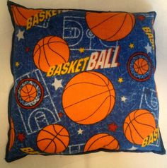 """Flax Heating pad , Microwavable""""The Flax SaK"""" Basketball brushed Flannel double serged edge, Great Gift Therapeutic100 % Flax seeds"""