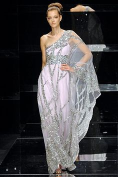 Elie Saab..sari-like dress.
