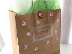 "DIY Snow Day ""Survival"" Kit 