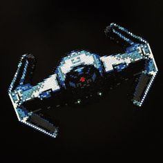 TIE Fighter - Star Wars perler beads by imayfair
