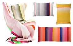 Modern Plaid: Blankets and Pillows by Scholten & Baijings