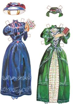 Romanticas Paper Dolls.This From bansee3 - MaryAnn - Picasa Web Albums