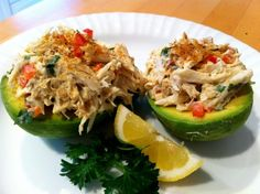 Crab Salad in Avocado Boats | Tasty Kitchen: A Happy Recipe Community!