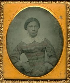 Ambrotype of Unidentified African American Woman