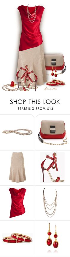 """Pivonka#1150"" by lilikatka ❤ liked on Polyvore featuring See by Chloé, CC, Dsquared2, Amanda Wakeley, Kevia and Sam Edelman"