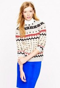 Fair Isle Ski Sweater from J.Crew | on jen darling by jkhnelson.com