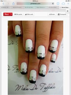 Black White Silver Nails Red Is What I M Wearing For My Wedding On To Michael Brown