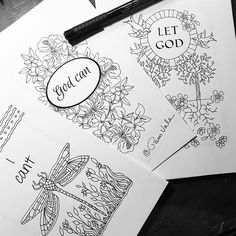 A Sample Of The Inside My New Coloring Book Journals They Are Almost Done