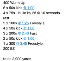 2900 yards Sport Gymnastics, Olympic Gymnastics, Olympic Games, Workouts For Swimmers, Water Workouts, Swimming Workouts, Daily Workouts, Freestyle Swimming, Swim Technique