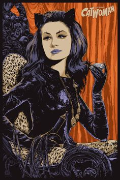 Catwoman - Julie Newmar by Ken Taylor