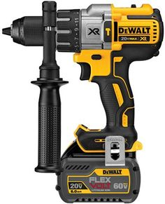Dewalt 20V Max Brushless Hammer Drill with FlexVolt Battery