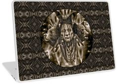 Native American Spirit Of The Bear 2 | Design available for PC Laptop, MacBook Air, MacBook Pro, & MacBook Retina