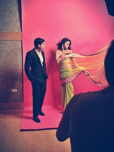 BEHIND THE SCENES : Manish Malhotra   Feeling the bollywood breeze everyone? Catch all the behind the scenes gorgeousness on our blog perniaspopupshop.... Coming soon at : www.perniaspopups...
