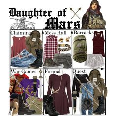 """Daughter of Mars ~ Wardrobe"" by liesle on Polyvore"