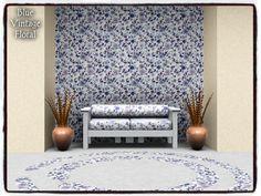 dowdell626's Blue Vintage Floral_PATTERN