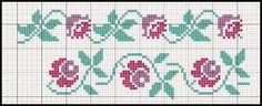 Cris Mandarini: Barradinhos crochet