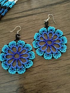 33 ideas for crochet jewelry ring seed beads - 33 ideas for crochet jewelry ring . - 33 ideas for crochet jewelry ring seed beads – 33 ideas for crochet jewelry ring seed beads - Beaded Earrings Patterns, Seed Bead Patterns, Seed Bead Earrings, Beading Patterns, Seed Beads, Hoop Earrings, Loom Patterns, Bracelet Patterns, Beaded Flowers Patterns