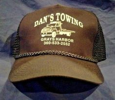 Vintage New Dan s Towing Snapback Trucker Hat NICE  fashion  clothing   shoes  accessories  mensaccessories  hats (ebay link) 8951e2a64ec8