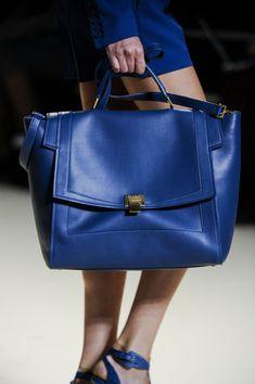 Elie Saab at Paris Fashion Week Spring 2013 – StyleBistro Fashion Handbags, Fashion Bags, Fashion Shoes, Fashion Accessories, Paris Fashion, Buy Bags, Vogue, Blue Fashion, Elie Saab