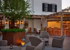 Artisan Restaurant at The Delamar Hotel, Southport, CT.