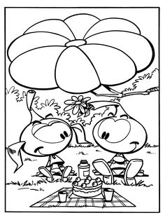 Free Snorks Coloring Page Pages 27 Printable