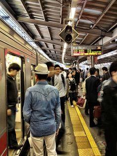 Tokyo, Japan >>> Commuting memories. :)