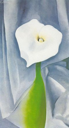 georgia o'keeffe famous paintings | Georgia O'Keeffe (inspired by) Painting Reproductions Gallery