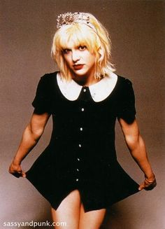 Courtney in the 90's when I LOVED her....