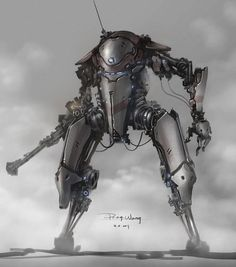 just another mech.. by *ProgV on deviantART