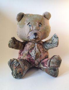 GOBELIN Bear  Handmade Plush  worked from an par KarPatCreations