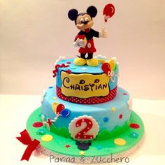 Lucia Tuccitto #cakedesign #cartoon #topolino