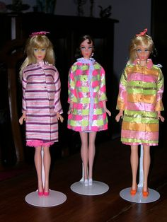 I had every one of these Barbie fashions! The middle one was my favorite -