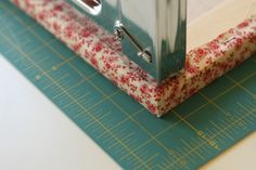Fabric-covered picture frame tutorial