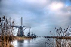 Kinderdijk VII by Watze D. de Haan
