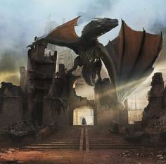 Concept Art of Game of Thrones. Drogon Game Of Thrones, Game Of Thrones Dragons, Got Dragons, Game Of Thrones Art, Mother Of Dragons, Daenerys Targaryen Art, Khaleesi, Isaac Hempstead Wright, Dragon 2