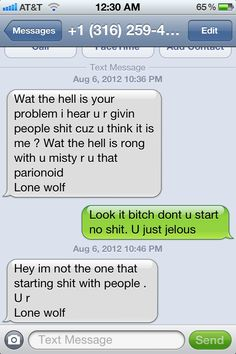 Harmless texting prank causes wrong number to descend into total insanity.  (BEST use of a wrong number EVER!)