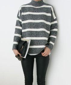 Grey knit | Harper and Harley