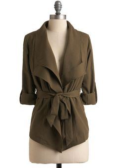 I want to wear this, jeans, a black tank, black flats and my chakra necklace to my interview... lalalalala