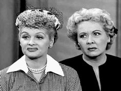 lucy and ethel buy the same dress | Tumblr