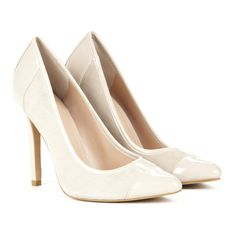 Sole Society Danika almond toe pump (235 RON) ❤ liked on Polyvore featuring shoes, pumps, heels, sapatos, high heels, french taupe, taupe pumps, taupe shoes, sole society shoes and almond toe shoes