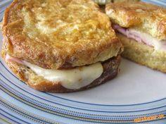 Veľmi jednoduché, lahodné a šťavnaté :-). Ďalšia varianta chleba vo vajíčku, ktorú máme veľmi radi.....
