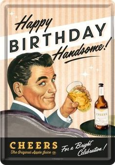 Happy birthday to you Husband Happy Birthday Vintage, Funny Happy Birthday Meme, Happy Birthday Husband, Retro Birthday, Happy Birthday Beautiful, Happy Birthday Images, Happy Birthday Greetings, Funny Birthday Cards, Birthday Wishes Quotes