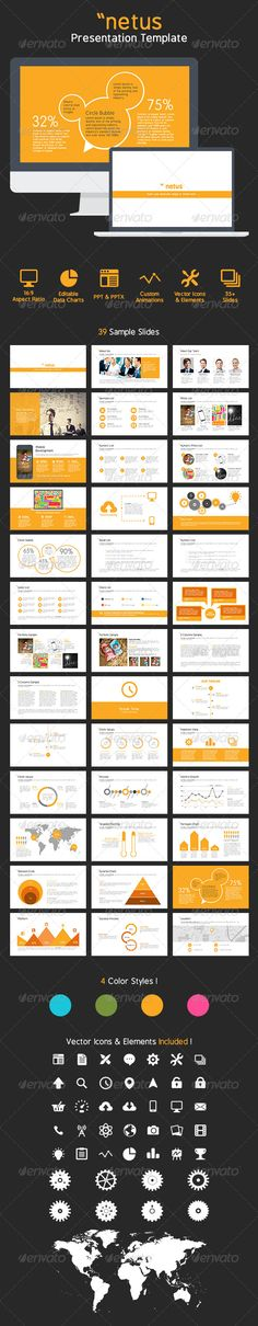 netus PowerPoint Presentation Templates (Powerpoint Templates) #Powerpoint #Powerpoint_Template #Presentation